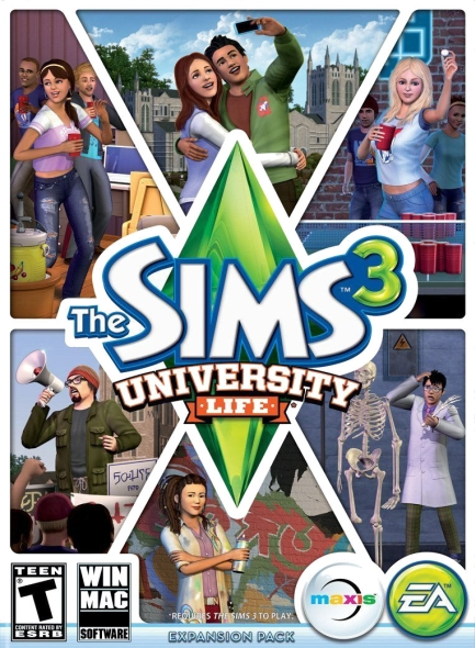The sims 3 university life expansion pack setup install free.